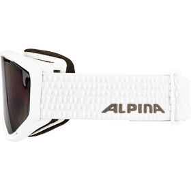 Alpina Panoma S Magnetic Q+S S1+S3 Gafas Mujer, white/black